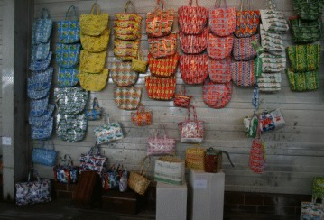 bags from maroc made from packaging materials